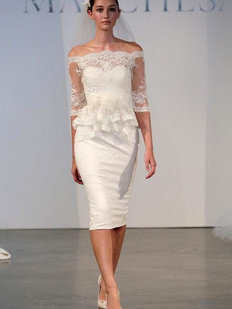 Vestido de novia para civil 2014