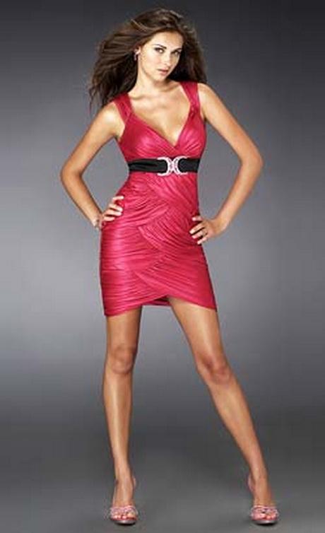 Vestidos cortos strapless