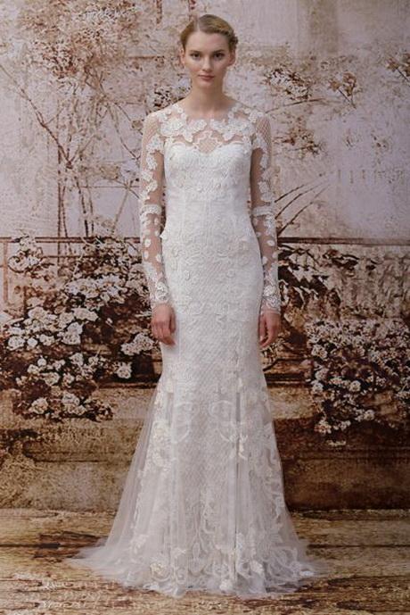 Vestidos de novia 2014 encaje