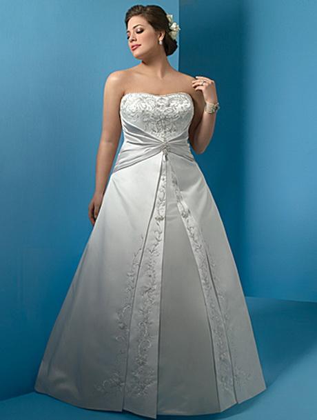 Vestidos de novia para mujeres llenitas