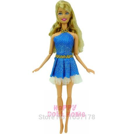 Barbie Vestido Azul