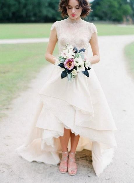 Vestido de novia civil 2018