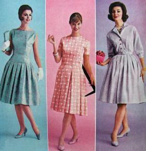 Vestidos vintage a os 60 for Piscinas desmontables segunda mano ebay