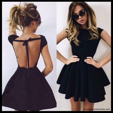 Vestidos sencillos y elegantes cortos