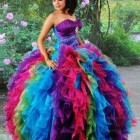 Puffy quinceanera dresses
