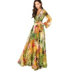 Vestido tropical formal