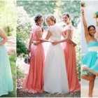 Vestidos para damas de honor color menta