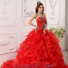 15 dresses red
