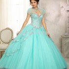Light blue 15 dresses
