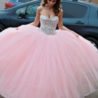 Light pink 15 dresses
