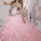 Light pink quinceanera dresses