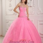 Quinceanera dresses pink