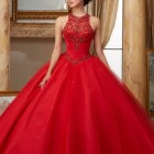 Red 15 dresses