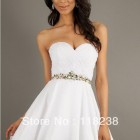 White dama dresses
