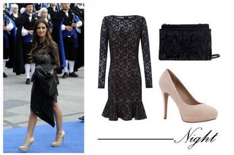 Con que color de zapatos combina un vestido negro