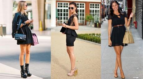 11 ideas para combinar un vestido negro - Ellas Hablan